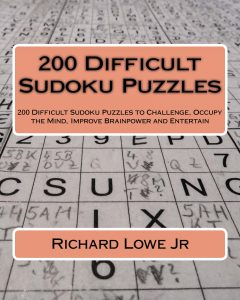 200 Difficult Sudoku Puzzles