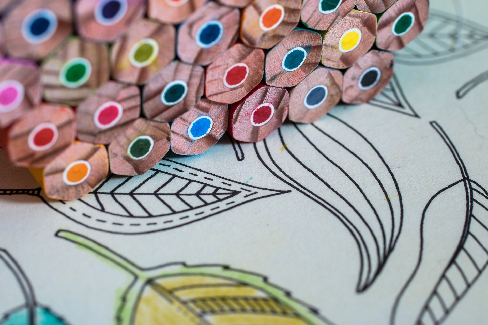 Adult Coloring Books reduce stress