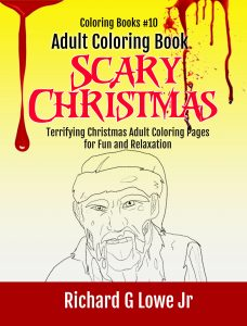 Scary Christmas Coloring Book